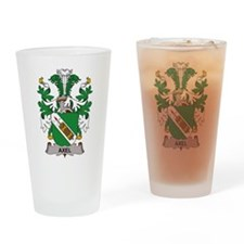 Axel Family Crest Drinking Glass