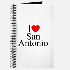 """I Love San Antonio"" Journal"