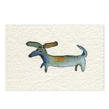 dachse dachshund Postcards (Package of 8)
