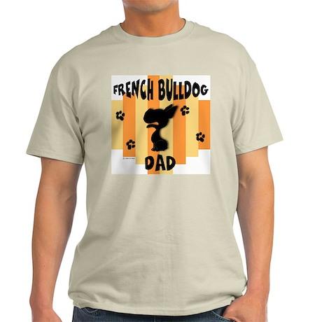 French Bulldog Dad Light T-Shirt
