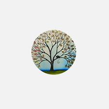 Binghamton Stray Cat in Tree Mini Button