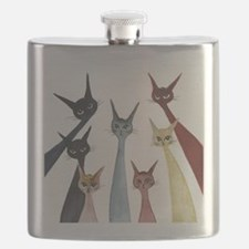 Aroostook Stray Cats  Flask