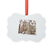Saddlebred Lets Ride Ornament