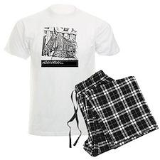 Saddlebred lets ride -black Pajamas