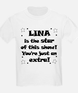 Lina is the Star T-Shirt