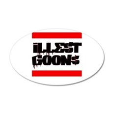 iLLest Goon$ Wall Decal