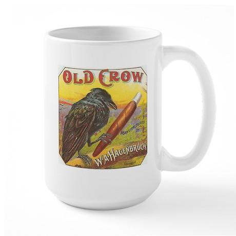 Old Crow vintage label Mugs