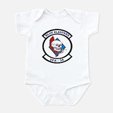 VFA 34 Blue Blasters Infant Bodysuit