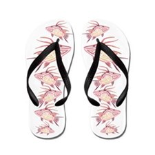 Tribal Hogfish Flip Flops