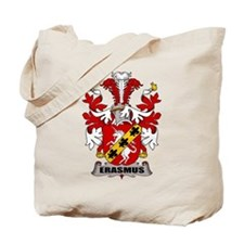 Erasmus Family Crest Tote Bag