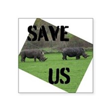 Save the Rhinos Sticker