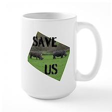 Save the Rhinos Mugs