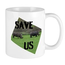 Save the Rhinos Mugs