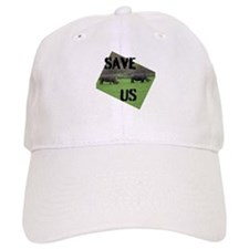 Save the Rhinos Baseball Baseball Cap