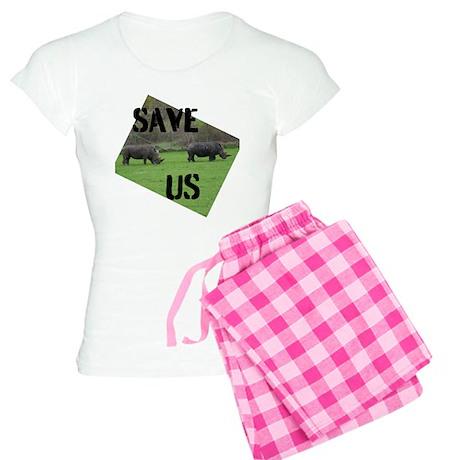 Save the Rhinos Pajamas