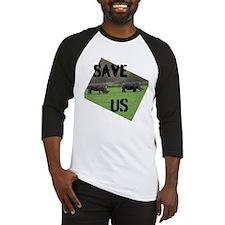 Save the Rhinos Baseball Jersey
