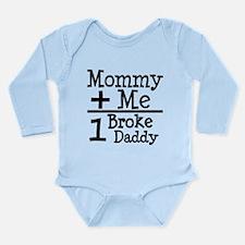 Mommy Plus Me Long Sleeve Infant Bodysuit