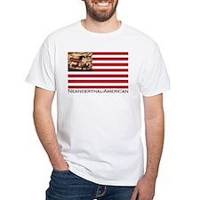 Neanderthal-American Flag T-Shirt