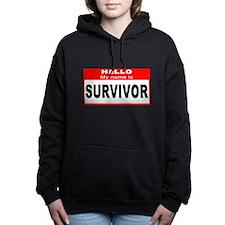 Hello My Name Is Survivor Hooded Sweatshirt