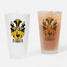 Grill Family Crest Drinking Glass