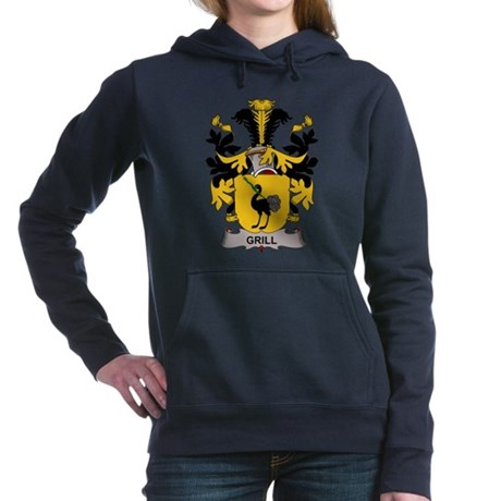 Grill Family Crest Hooded Sweatshirt