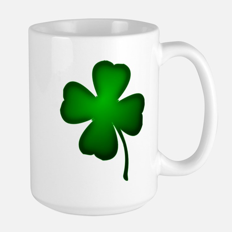 Four Leaf Clover Stainless Steel Travel Mugs