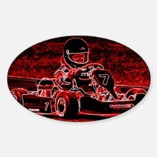 Kid Karts are RED Hot! Decal