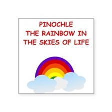 PINOCHLE Sticker