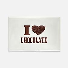 I Love Chocolate Magnets