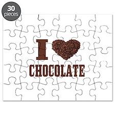 I Love Chocolate Puzzle