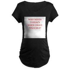 PINOCHLE Maternity T-Shirt