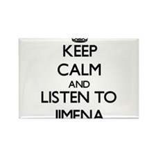 Keep Calm and listen to Jimena Magnets