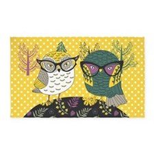Trendy Owls 3'X5' Area Rug