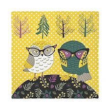 Trendy Owls Queen Duvet