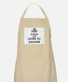 Keep Calm and listen to Julianne Apron