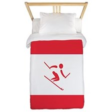 Team Alpine Skiing Austria Twin Duvet