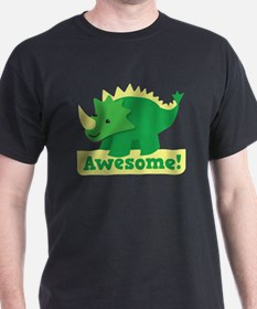 Green Dinosaur AWESOME cute! T-Shirt