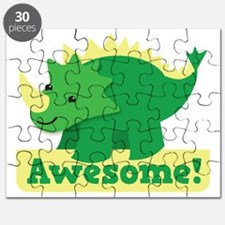 Green Dinosaur AWESOME cute! Puzzle