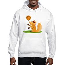 Basketball playing fox Hoodie