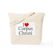 """I Love Corpus Christi"" Tote Bag"