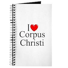 """I Love Corpus Christi"" Journal"