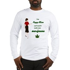 Peggy smoking Long Sleeve T-Shirt