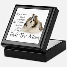 Shih Tzu Mom Keepsake Box
