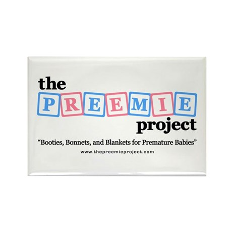 The Preemie Project Rectangle Magnet