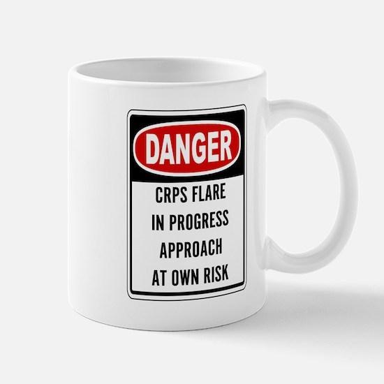 Danger! CRPS Flare In Progress Mugs