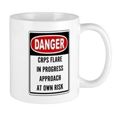 Danger! CRPS Flare In Progress Mugs