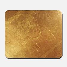 Golden Leather Design  Mousepad