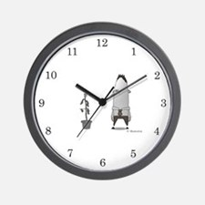 Low Morale Wall Clock