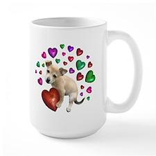 Puppy Hearts Love Mug