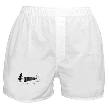 WTD: Size Matters Boxer Shorts